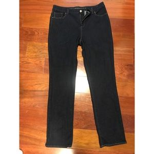 So slimming girlfriend slim leg jean size 1.5